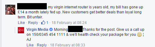 Virgin Media Customer Loyalty