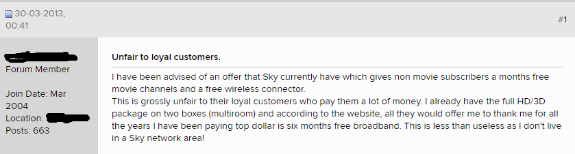 Sky Customers